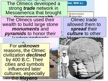 UNIT 5 LESSON 1. Pre-Columbian American Empires POWERPOINT