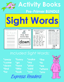 Sight Word Activity Booklets BUNDLE - 20 Booklets