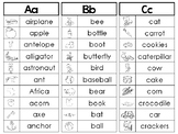 26 Printable Alphabet Phonics Word Lists. Preschool-3rd Grade Phonics.