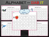 26 Printable Alphabets Uppercase Dab It Worksheets, T-204