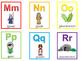 26 Printable Bible Alphabet Flashcards. Preschool-Kindergarten Bible Curriculum.