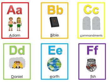 photograph regarding Printable Alphabet Flashcards identify 26 Printable Bible Alphabet Flashcards. Preschool-Kindergarten Bible Curriculum.