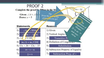 2.6 Proving Angles Congruent - Lesson PowerPoint