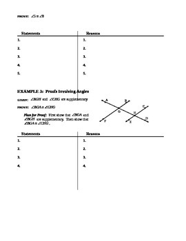 2.6 Proving Statements About Angles (B)