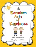 26 Random Acts of Kindness