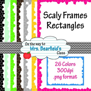 26 Scaly Rectangles - Digital Frames