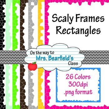 26 Scaly Rectangles - Digital Frames