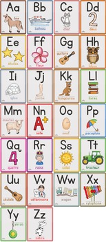 26 affiches alphabet - french alphabet posters