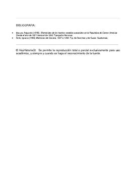 """26 de enero de 1838: se subleva batallón """"La Concordia"""" en Ciudad de Guatemala"""
