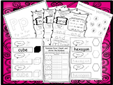 260 Kindergarten Worksheets Download. Preschool-Kindergarten.  Worksheets in ZIP