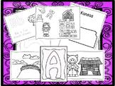 262 Coloring and Collage Worksheets Download. Preschool-Kindergarten.