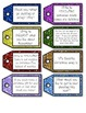 263 Monthly Writing Prompt Task Cards & Student Goal Setti