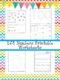 263 Numbers Worksheets Download. Preschool-Kindergarten Ma
