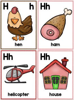 264 Alphabet Flash Cards: 15 alphabet activity suggestions