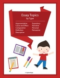 265 Essay Topics by Essay Type