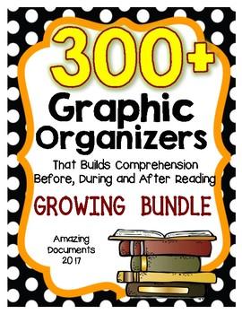 265 Reading Graphic Organizers