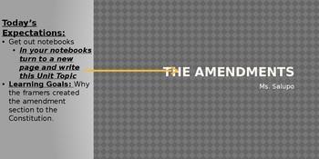 27 Amendment Unit