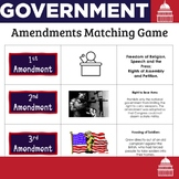 Amendments Matching Game