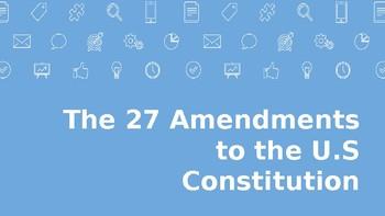 27 Amendments Powerpoint