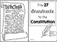 27 Amendments to the United States Constitution - Writing Project