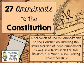 the list of amendments on the united states constitution A list of some of the 11000 failed proposals to amend the us constitution.