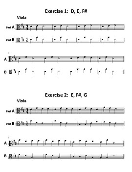 27 Exercises to Improve Intonation for Beginning Orchestra