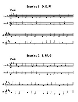 27 Exercises to Improve Intonation for Beginning Orchestra | TpT