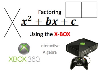 27) Factoring Quadratic Trinomials Using XBOX method (comp