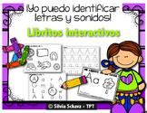 Yo puedo identificar letras y sonidos - Libritos interactivos del alfabeto