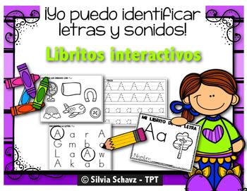Yo puedo identificar letras y sonidos - libritos interacti