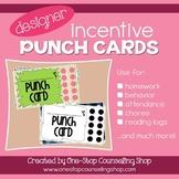 Behavior Incentive Punch Cards: Designer Pack