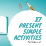 27 Present Simple Tense Activities and Explanations for ES