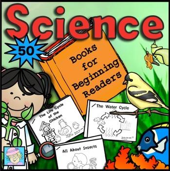 Science Books for Beginning Readers 50 Books