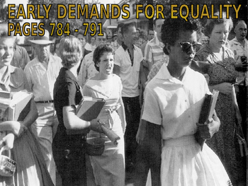 27 - The Civil Rights Movement - PowerPoint Notes