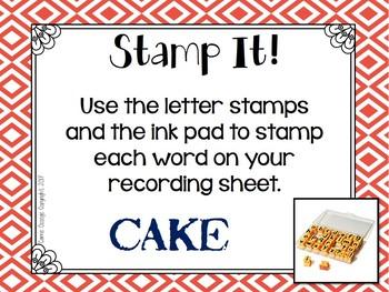 27 Word Work Task Cards