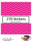 270 LABEL STICKERS