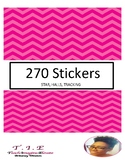 270 LABEL STICKERS