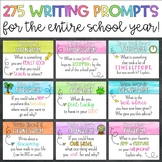 275 Daily Writing Prompts for the Entire Year