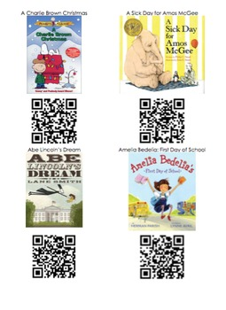 275 QR Code Stories for Your Listening Center