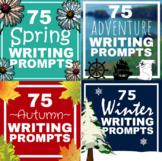 275 Seasonal Writing Prompts Bundle