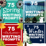 275 Seasonal Writing Prompts Bundle