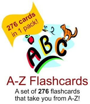 276 Flashcards A-Z - Phonics