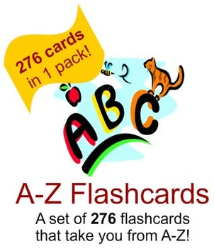 276 Flashcards A-Z - Phonics