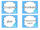 28 Beach themed Printable Basket Labels Classroom Organize