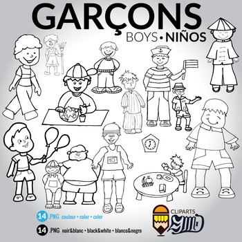 Garçons - Boys - Niños