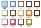 28 Clipart Borders & Sheets (Too Groovy Color Palette) Personal & Commercial Use