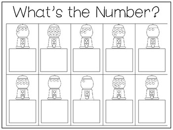 28 Counting and Adding Work Mats and Worksheets. Preschool-Kindergarten Math