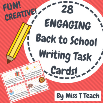 Back to School Writing Task Cards!