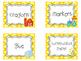 28 Farm themed Printable Basket Labels Classroom Organizer