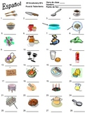 28 Food & Table Items Vocabulary IDs - For All Languages